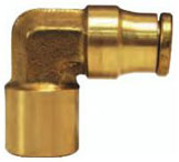 Brass Female Elbow Quick Connect/Disconnect Push-in Fitting jpg