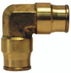 Brass Union Elbow Push-in Quick Connect/Disconnect Fitting jpg