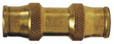 Brass Union Push-in Quick Connect/Disconnect Fitting jpg